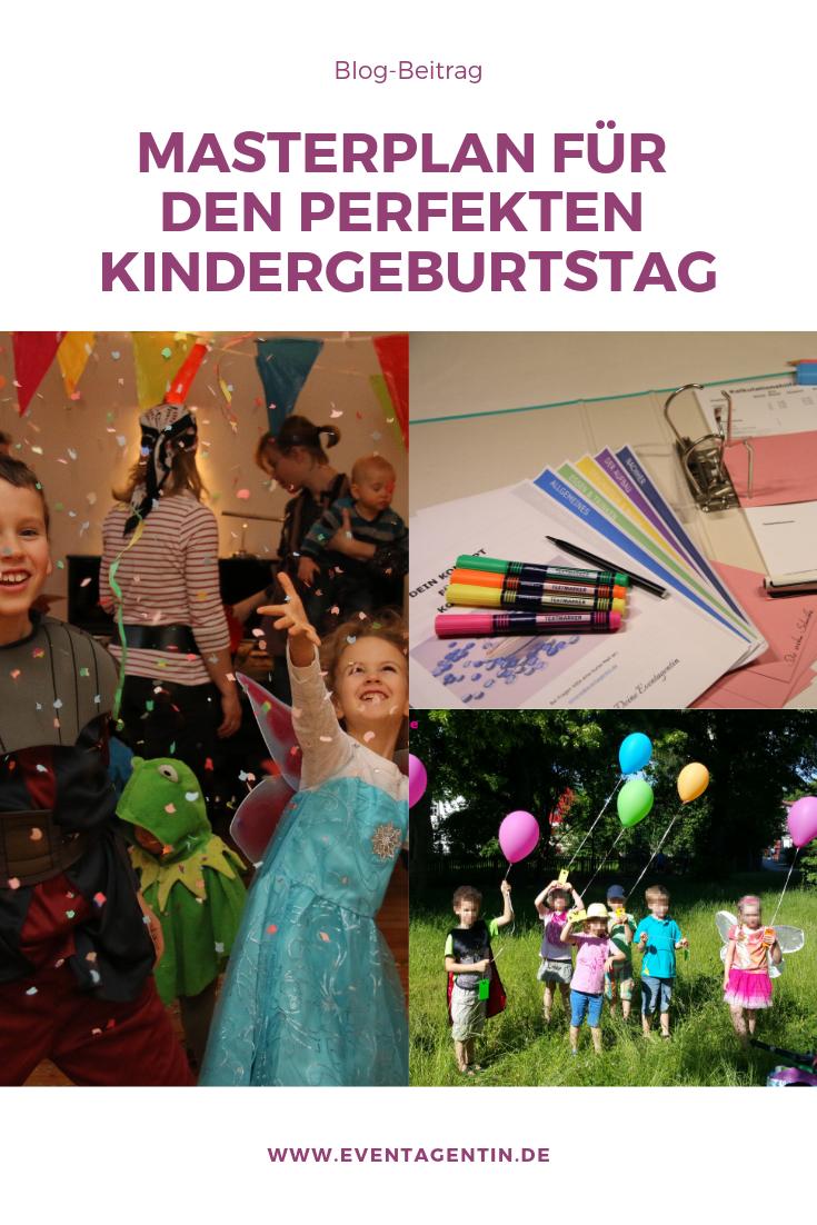 Anleitung für den perfekten Kindergeburtstag