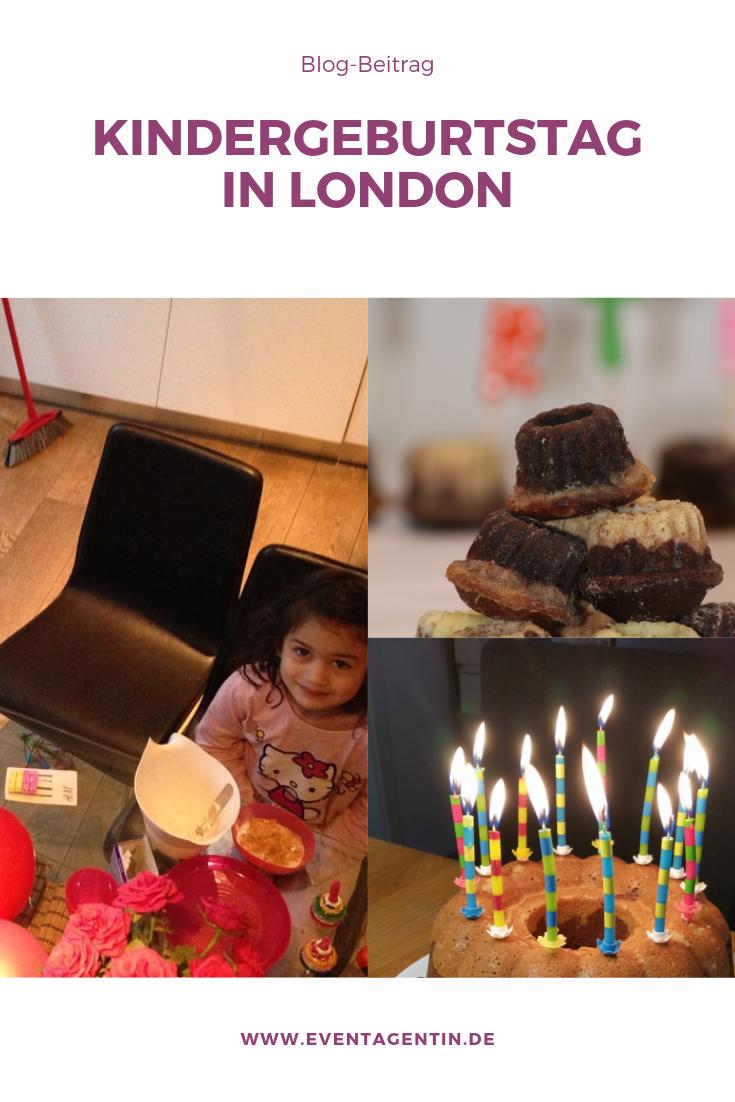 Bericht über Kindergeburtstag in England