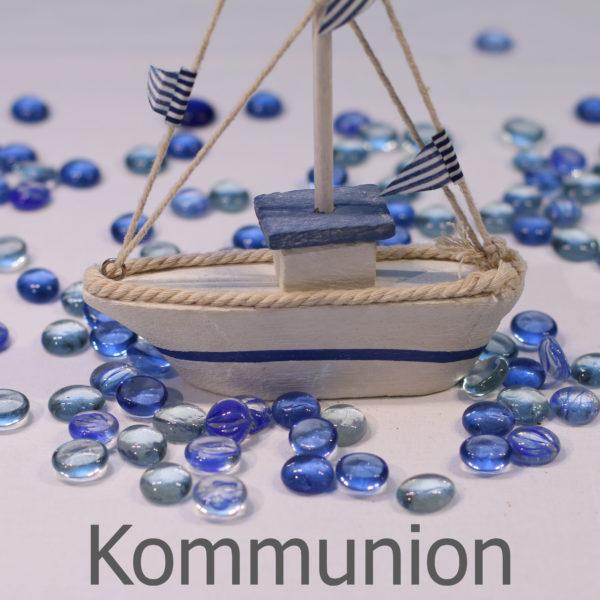 Kommunion Startbild mit Schiff
