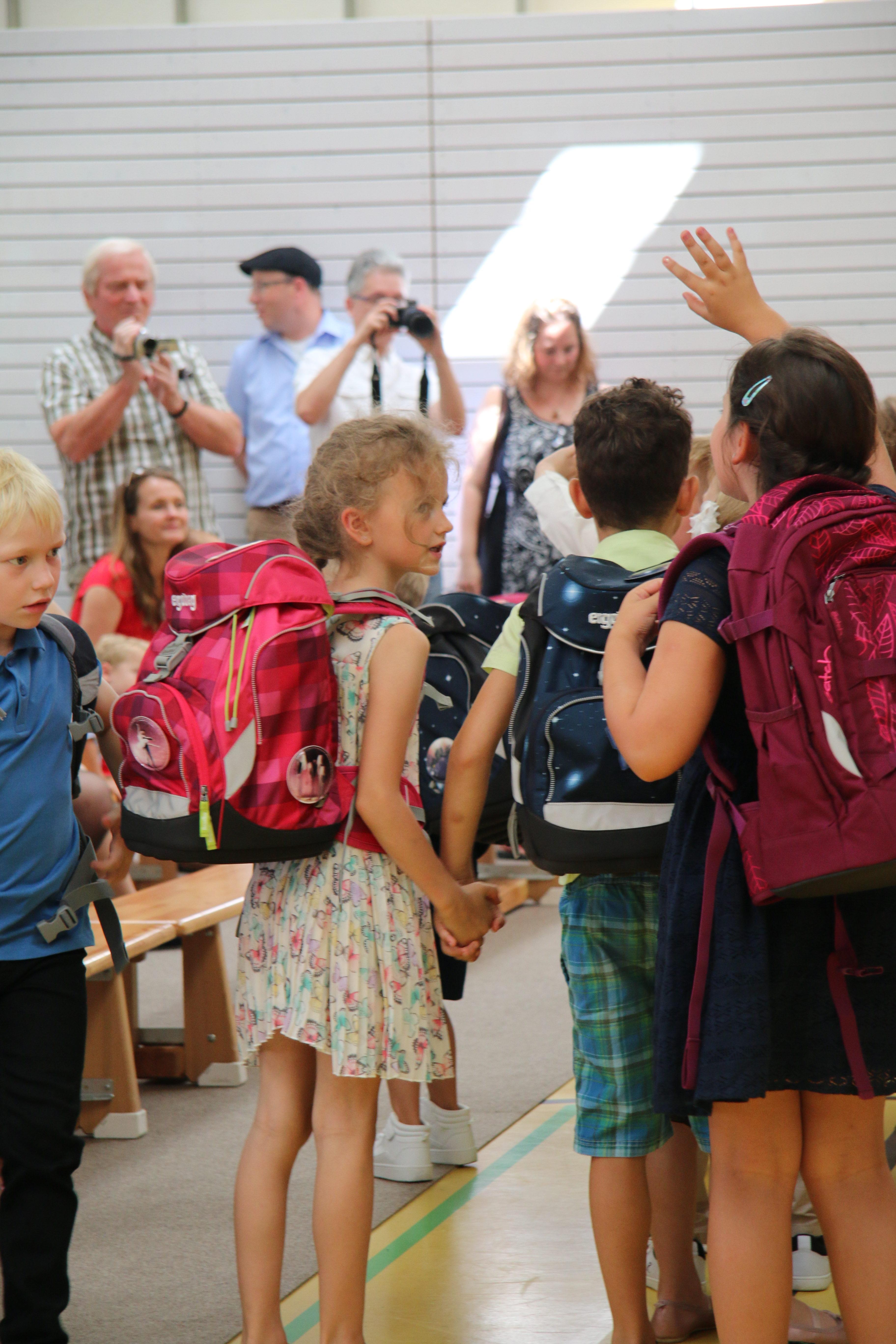 Einschulung Grundschule Freunde