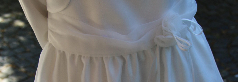 Ausschnitt Kleid Kommunion